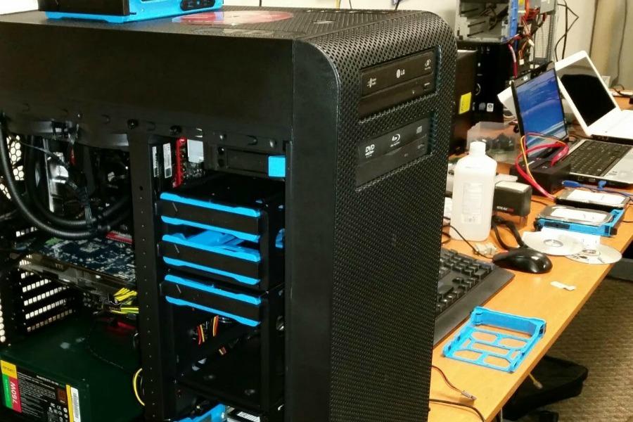 We build computers