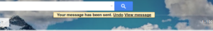 Gmail Account Undo Sending Settings