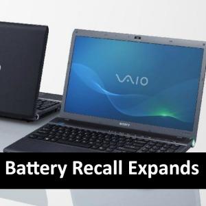 Sony Vaio Battery Recall