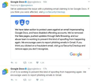 Google Phishing attack